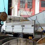 перевозка кабеля грузовик фото